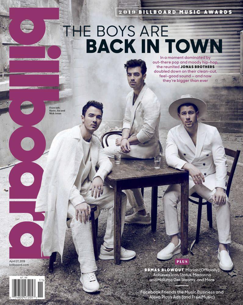 The Jonas Brothers' Billboard Magazine cover | Billboard
