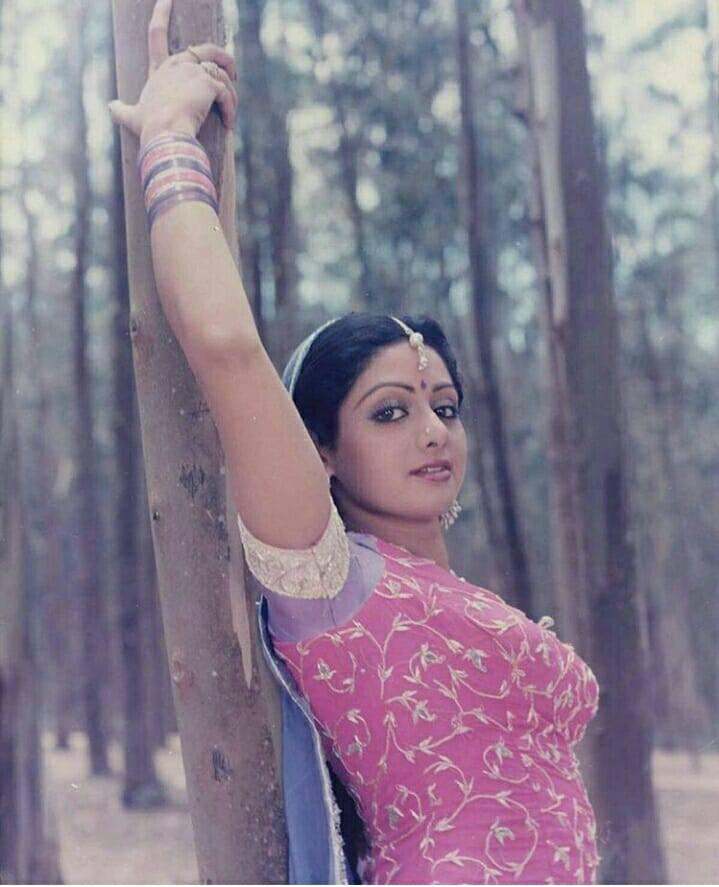 <p>Perhaps one of the earliest surgeries of the actress. Though Sridevi was born with envy evoking looks, she craved a sharper nose and that is exactly what she achieved by going under the knife. </p>