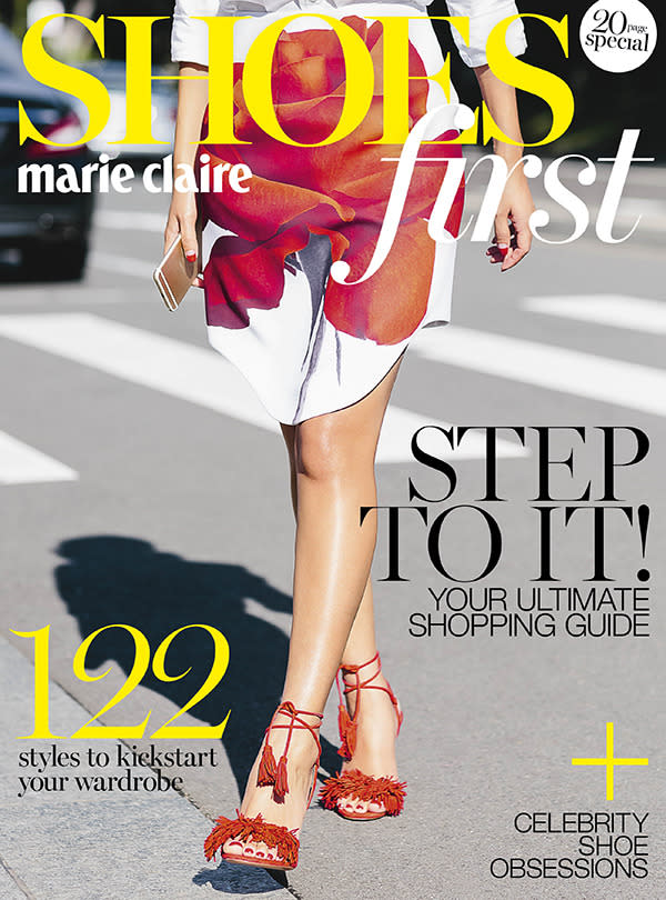 <br><b>SHOE SPECIAL:</b> Your ultimate 20-page style and shopping guide