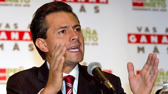 Mexican President-Elect Enrique Pena Nieto Files Supreme Court Brief in U.S. Murder Case