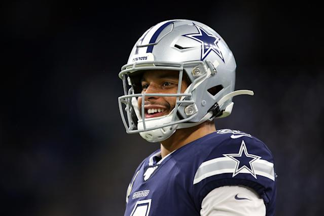 Dak Prescott's fantasy owners have been smiling all year (Amy Lemus/NurPhoto via Getty Images)