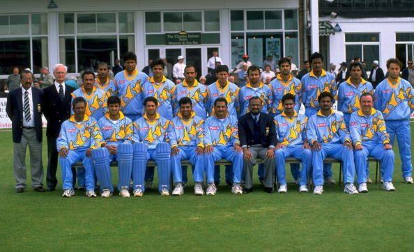 Team India got yellow back onto the jersey for the 1999 World Cup