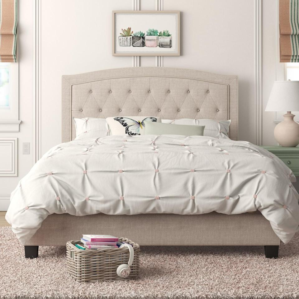 <p><span>Pascal Tufted Upholstered Low Profile Standard Bed</span> ($194, originally $1,004)</p>