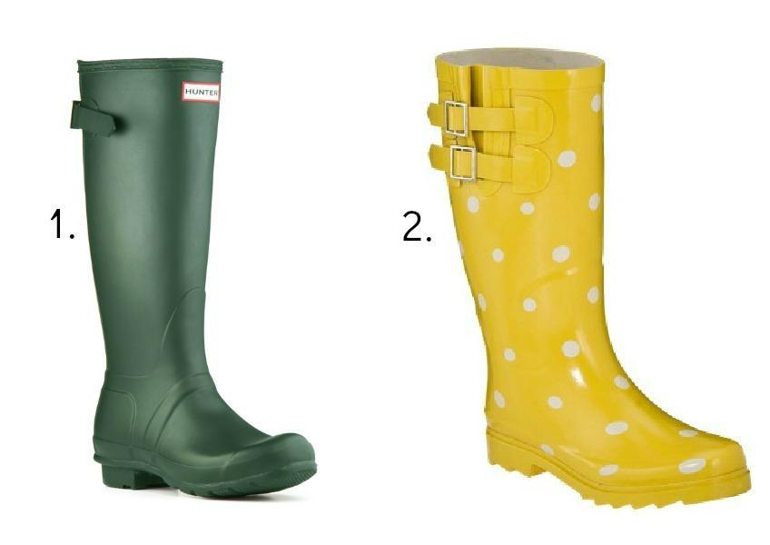 """<div class=""""caption-title"""">All-Weather Boots</div>Because you need it. Trust me, you don't want to wear anything else when it's raining cats and dogs out there. And you definitely don't want to slip on icy grounds, either. ( Photo by Hunter; Target)"""