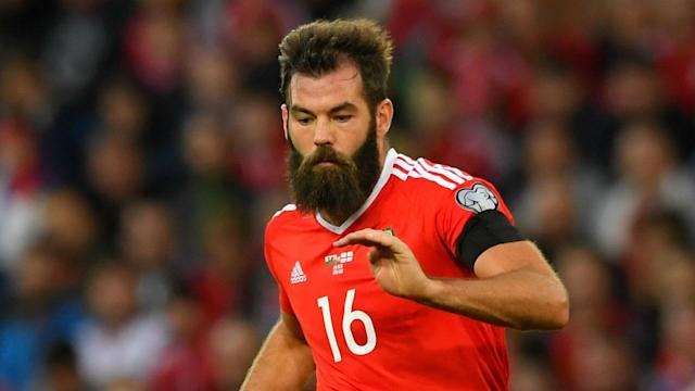The Wales international has reacted angrily to suggestions that he found a horrific injury suffered by the Republic of Ireland defender amusing