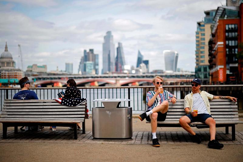 Temperatures are set to reach highs of 25C in England next week: AFP via Getty Images