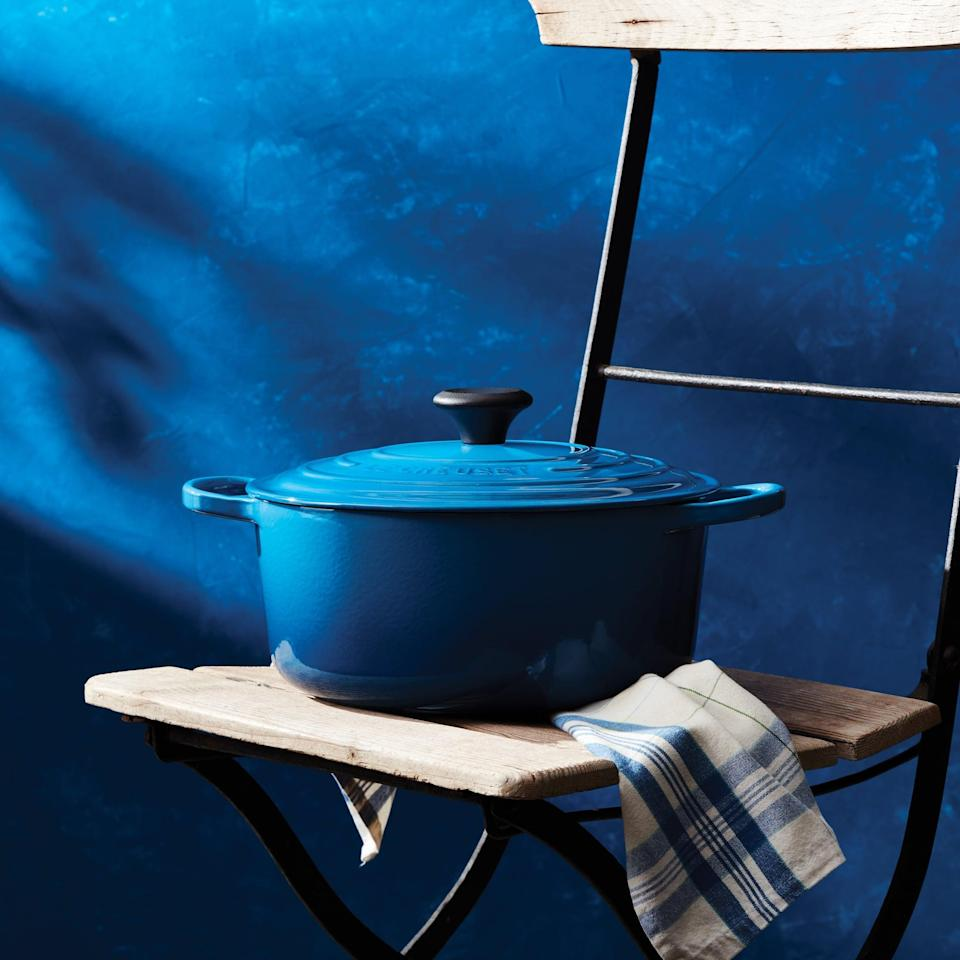 <p>This popular <span>Le Creuset Cast Iron Round Dutch Oven</span> ($160, originally $187) is great if you love cooking.</p>