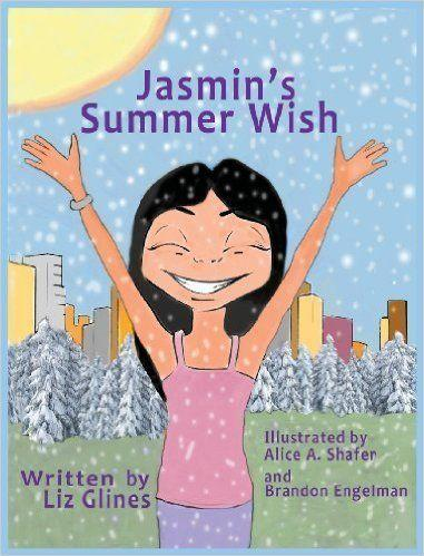 """<i><a href=""""http://www.amazon.com/Jasmins-Summer-Wish-Elizabeth-Glines/dp/0982711581/ref=sr_1_1?s=books&ie=UTF8&qid=1443554614&sr=1-1&keywords=jasmin%27s+summer+wish"""">Jasmin's Summer Wish</a></i>is a picture book by Liz Glines that tells the story of a group of children living in New York City and grappling with the realities of climate change. It is one of the first children's books to feature Sikh characters in an urban setting, <a href=""""http://www.amazon.com/Jasmins-Summer-Wish-Elizabeth-Glines/dp/0982711581/ref=sr_1_1?s=books&ie=UTF8&qid=1443554614&sr=1-1&keywords=jasmin%27s+summer+wish"""">according to Amazon</a>."""