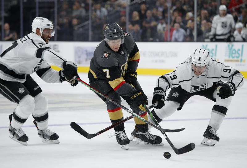 Knights forward Valentin Zykov suspended for 20 games