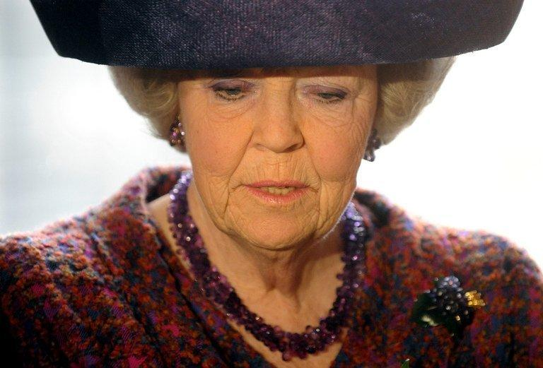 Dutch Queen Beatrix seen here during a four-day visit to Germany on April 13, 2011