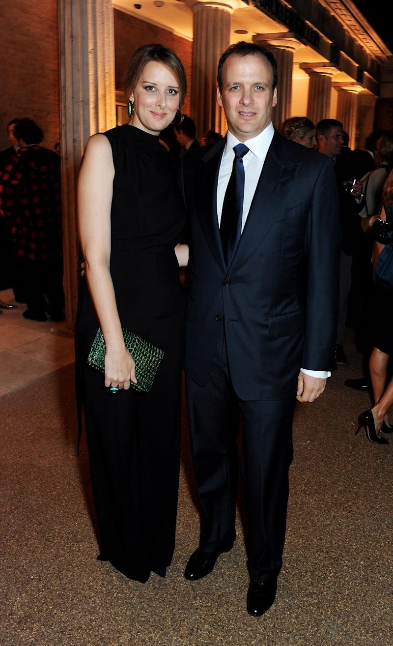 Jacqueline and Mortimer Sackler attend a donors dinner hosted by Michael Bloomberg and Graydon Carter to celebrate the launch of the new Serpentine Sackler Gallery designed by Zaha Hadid on September 24, 2013 in London. | David M. Benett—Getty Images