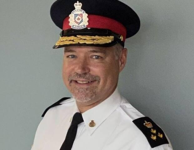 Duncan Davies has been named the chief of the LaSalle Police Service. (LaSalle Police Service/Facebook - image credit)