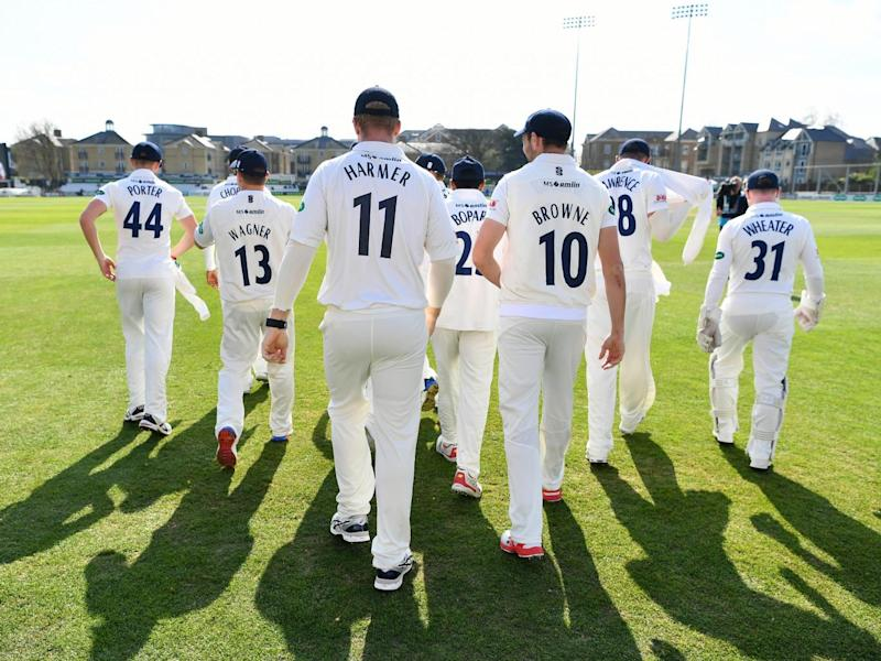 Essex were pleased with the encouraging result (Getty)