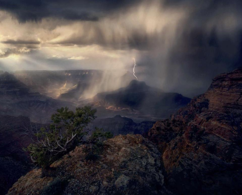 <p>The book aims to bring the landscape – traditionally the passive background, into the forefront with the incredible images. (Masters of Landscape Photography) </p>