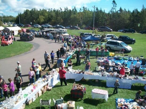 Organizers with the 70 Mile Coastal Yard Sale say it's better to cancel the event sooner than later as variant strains of COVID-19 take hold across the region. (70 Mile Coastal Yard Sale - image credit)