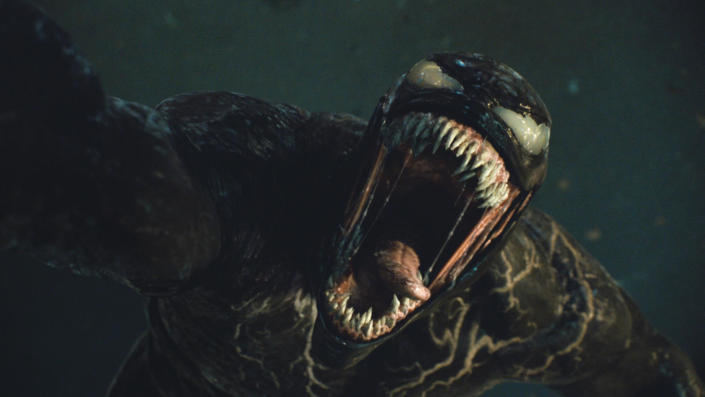 Tom Hardy returns to the role of journalist Eddie Brock and the titular symbiote in 'Venom: Let There Be Carnage'. (Sony/Marvel)