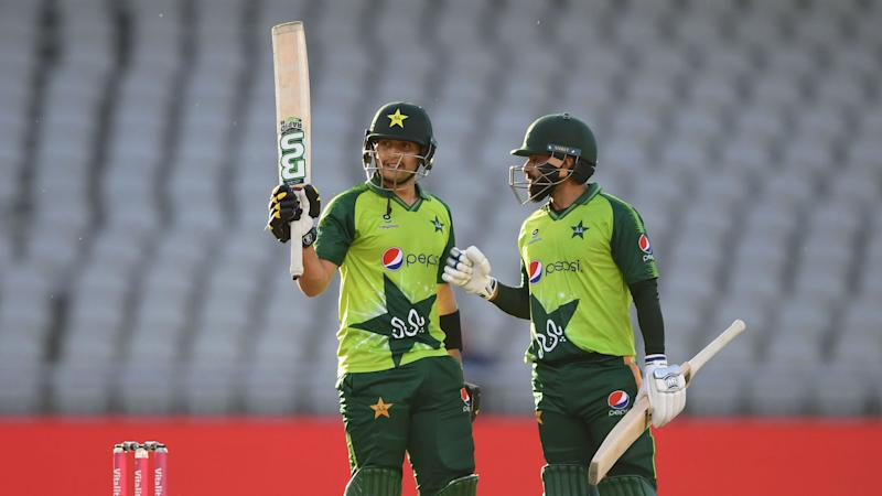 Pakistan salvage draw after Hafeez and Haider half-centuries