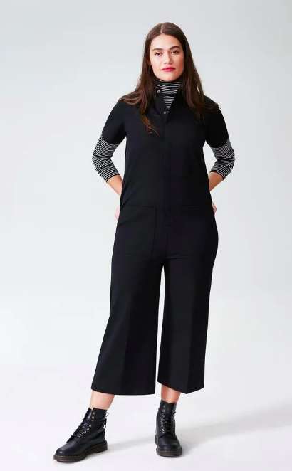 Kate Stretch Cotton Twill Jumpsuit (Photo via Universal Standard)