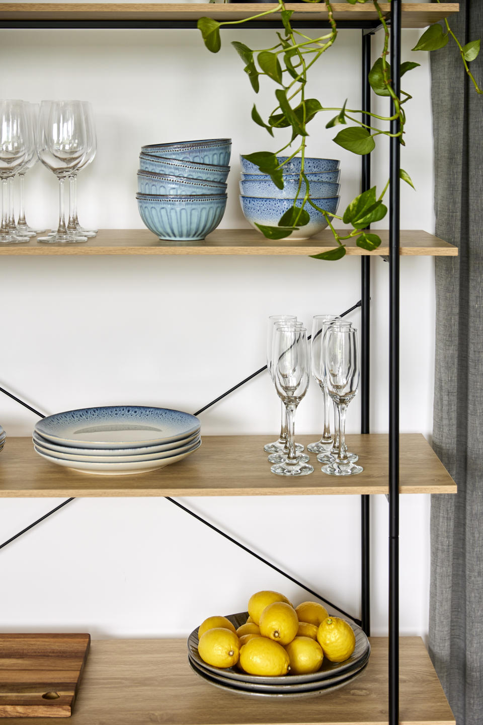 There will be a wide range of items in the new collection from decor to big furniture items like shelving units. Photo: Supplied