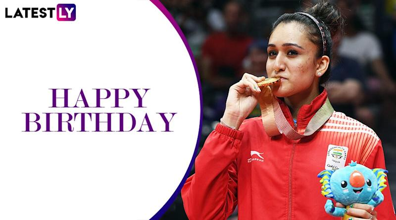 Manika Batra Birthday Special: Lesser Known Facts About CWG Gold Medalist Table Tennis Star As She Turns 25