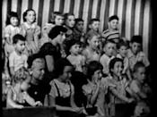 """<p><em>Howdy Doody</em> aired on NBC from 1947-1960.</p><p><a href=""""https://www.youtube.com/watch?v=pnUGAe0yqz4"""" rel=""""nofollow noopener"""" target=""""_blank"""" data-ylk=""""slk:See the original post on Youtube"""" class=""""link rapid-noclick-resp"""">See the original post on Youtube</a></p>"""
