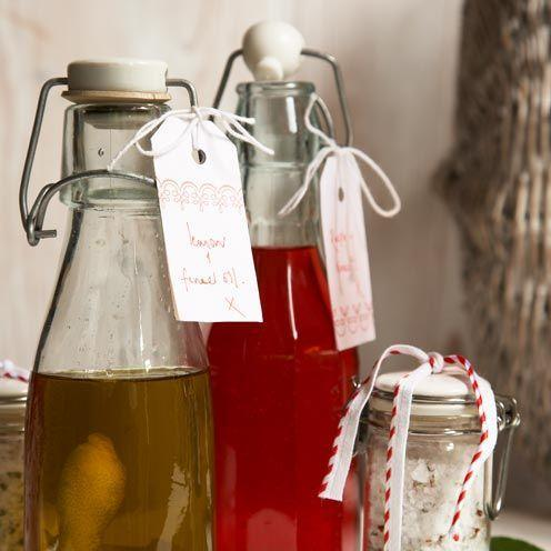 """<p>Fresh and delicious, this oil will be popular with food lovers.</p><p><strong>Recipe: <a href=""""https://www.goodhousekeeping.com/uk/food/recipes/lemon-and-fennel-oil-gift-recipe"""" rel=""""nofollow noopener"""" target=""""_blank"""" data-ylk=""""slk:Lemon and fennel oil"""" class=""""link rapid-noclick-resp"""">Lemon and fennel oil</a></strong><br><br><br></p>"""