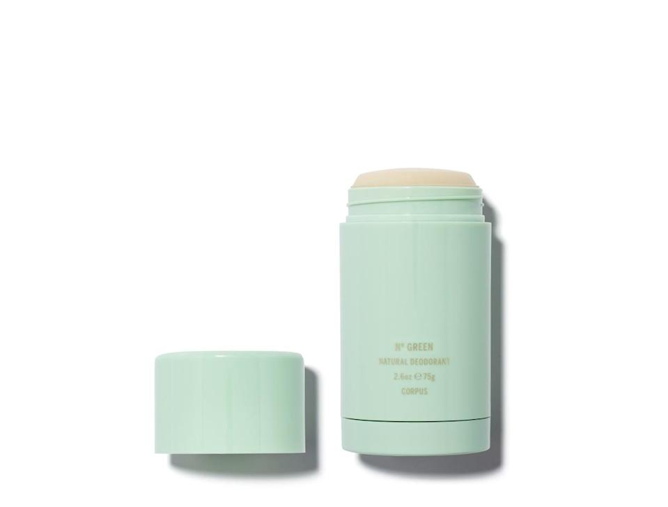 <p>This <span>Corpus Natural Deodorant</span> ($24) not only looks gorgeous on your vanity, it also has a variety of sophisticated, complex scents. We're into the complex, fresh Number Green scent.</p>