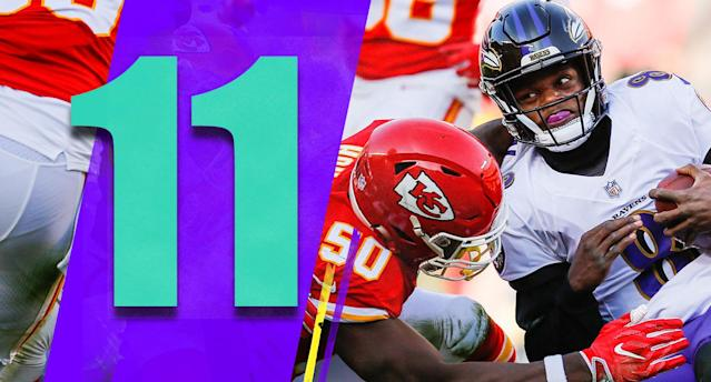 <p>The most damaging loss on Sunday might have been by the Ravens. Had they gotten a stop on either fourth down on the Chiefs last drive, or put together a game-winning drive at the end of regulation or overtime, they'd be the AFC North favorite right now. (Lamar Jackson) </p>