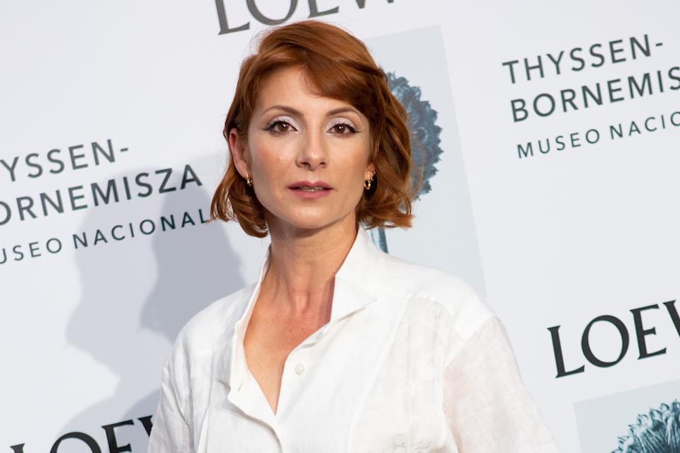 MADRID, SPAIN - SEPTEMBER 09: Actress Najwa Nimri attends the Loewe exhibition opening at Thyssen-Bornemisza museum on September 09, 2019 in Madrid, Spain. (Photo by Pablo Cuadra/Getty Images)