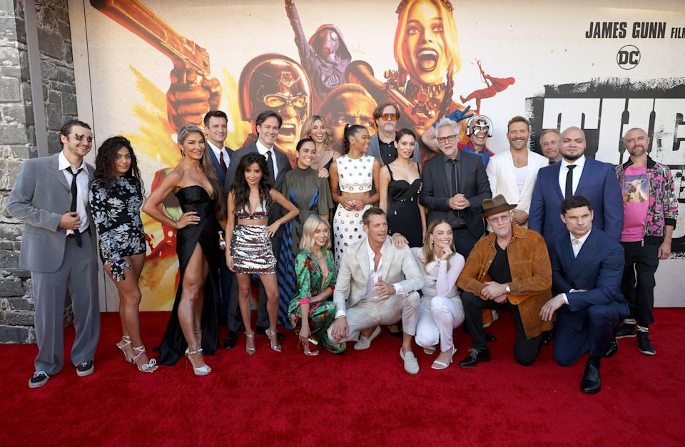 The weekend saw the release of Warner Bros' Suicide Squad (Getty Images)