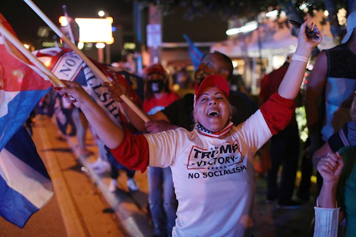 The Latinos support Donald Trump