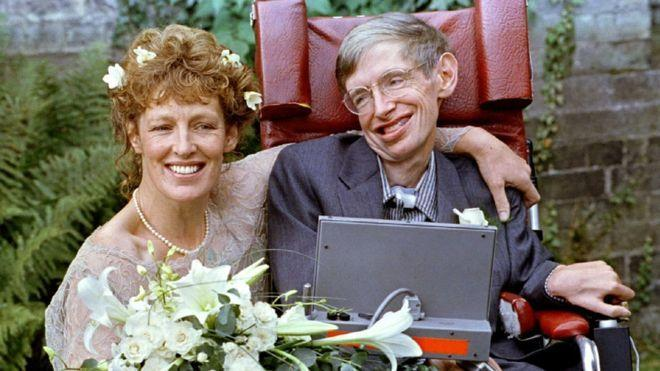 Hawking later married one of his nurses, Elaine Mason, in 1995. They were married for 11 years before they divorced. (Reuters)