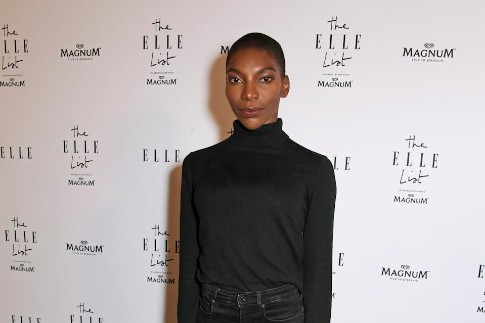 Michaela Coel celebrates The ELLE List on June 19, 2019. (Photo by David M. Benett/Dave Benett/Getty Images for Hearst Magazines)