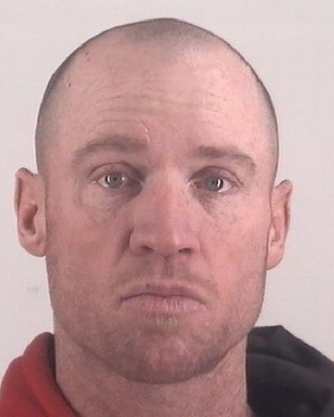 Keith Thomas Kinnunen poses for an undated police booking photo released by the Tarrant County Sheriff's Office in Fort Worth