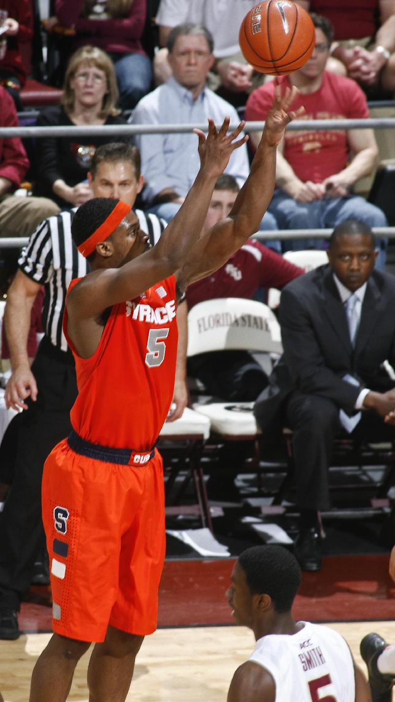 No. 7 Syracuse ends losing streak with 74-58 win