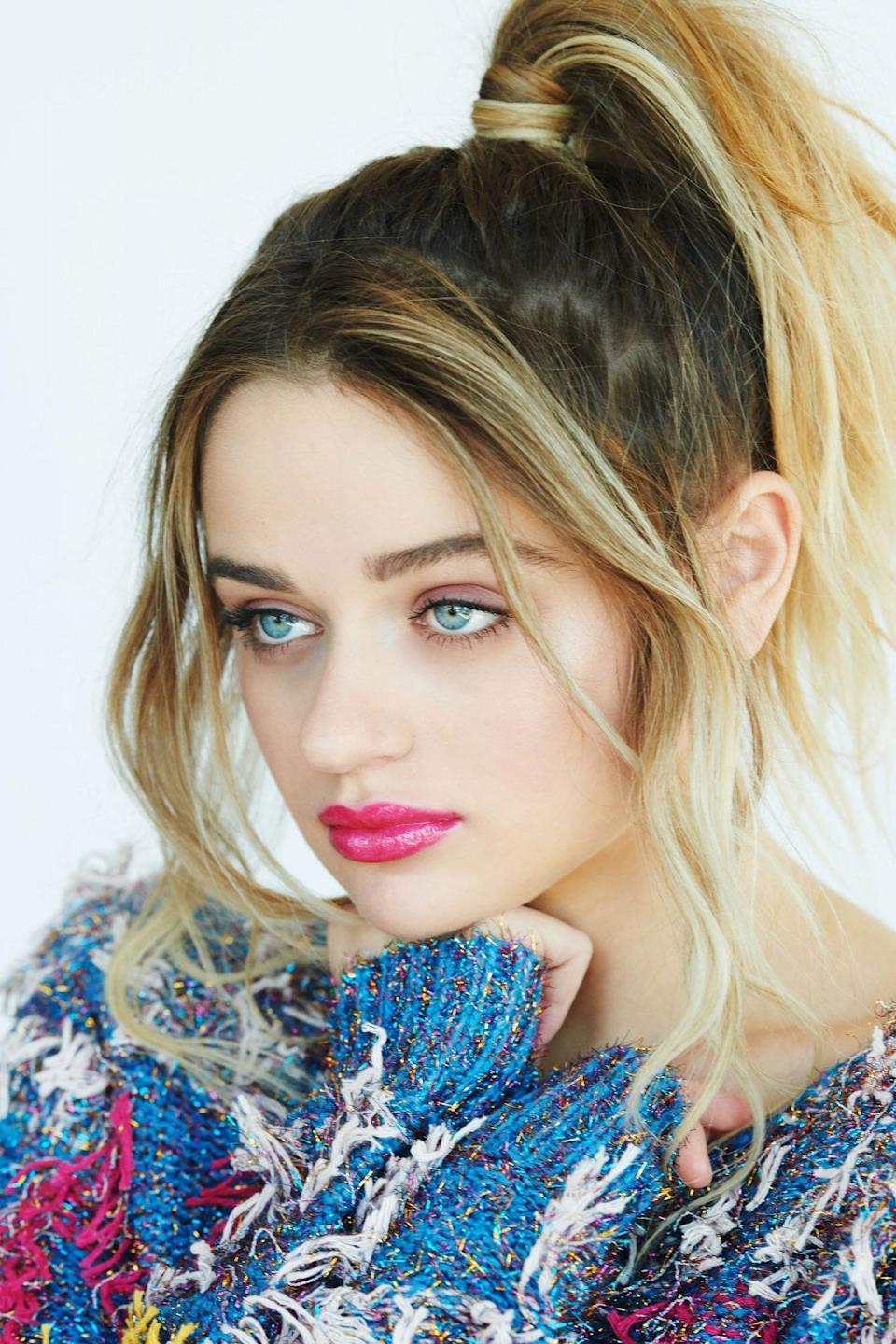 Joey King Ladies First with Laura Brown