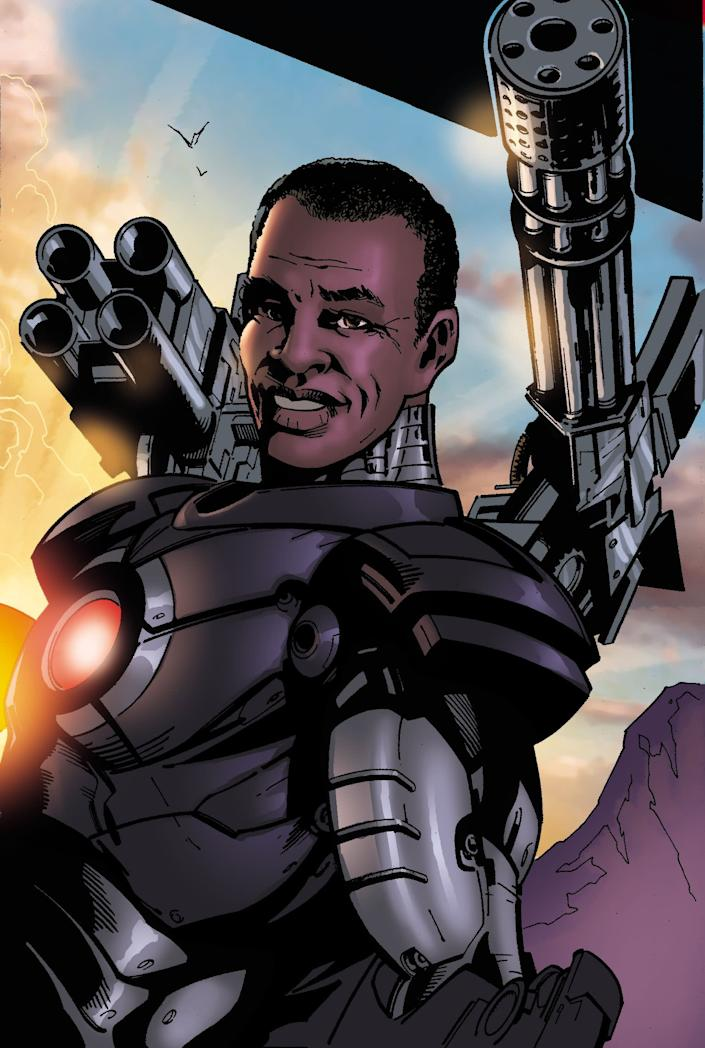 "James ""Rhodey"" Rhodes as WarMachine"