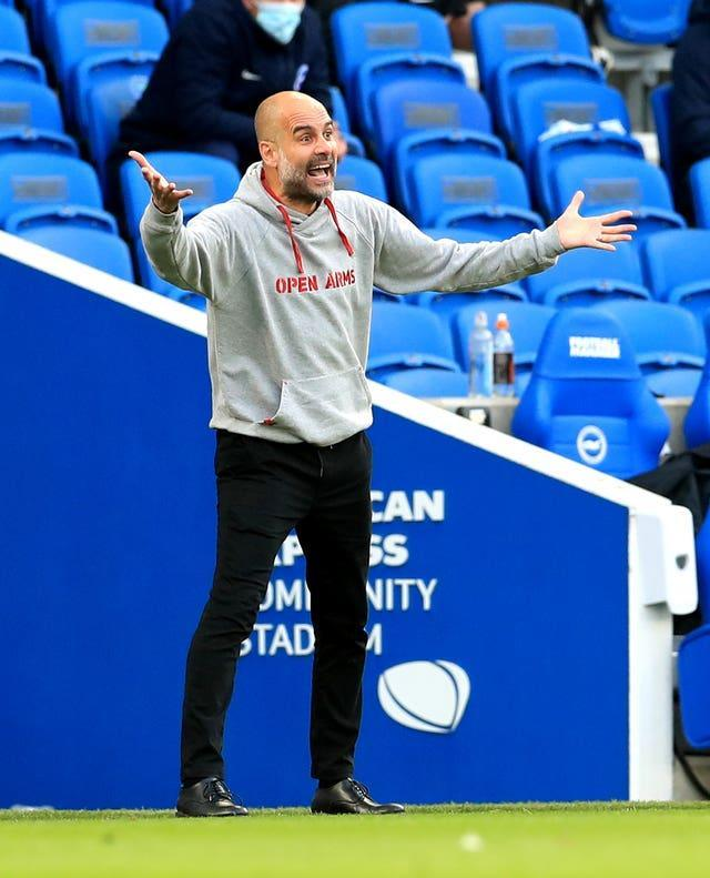 Pep Guardiola welcomed Sheikh Mansour's