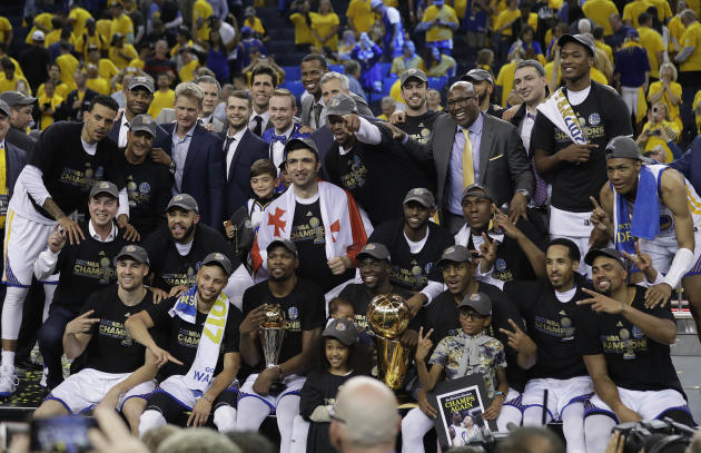 Warriors' Championship Win Sees NBA Finals Surge Over 2016 To 24.5M Viewers – Update