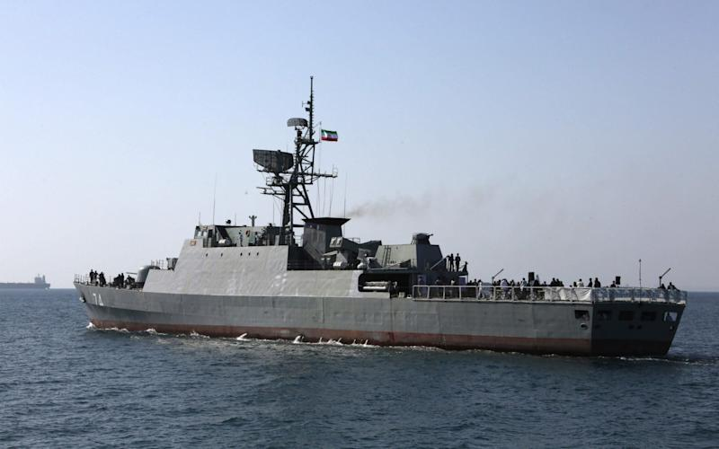 While Iranian military might in the Gulf is outstripped by that of the US, it could still inflict significant damage - AFP