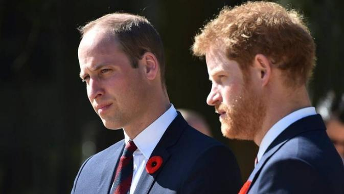 Pangeran William dan Pangeran Harry (AP Files)