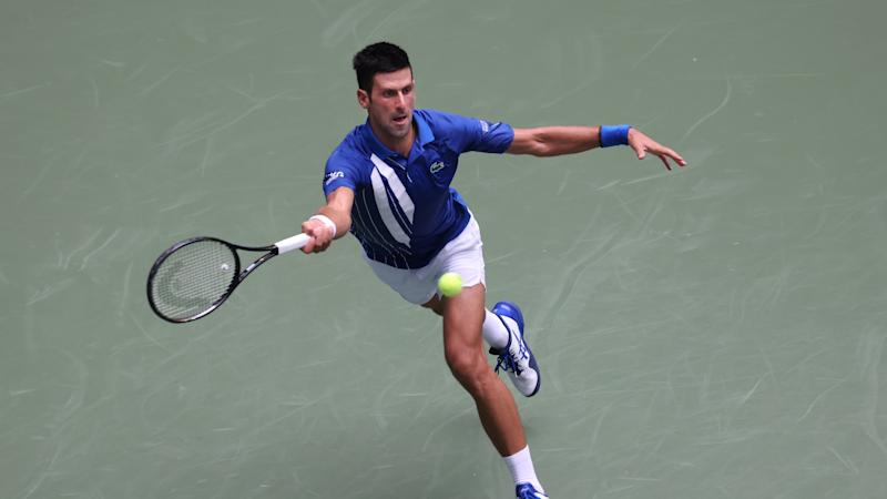 US Open 2020: Djokovic recovers from early blip to see off Edmund