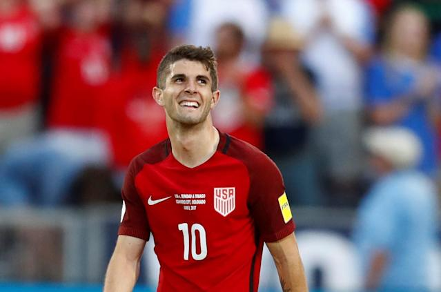 Christian Pulisic did a nice thing on Sunday. (AP Photo)