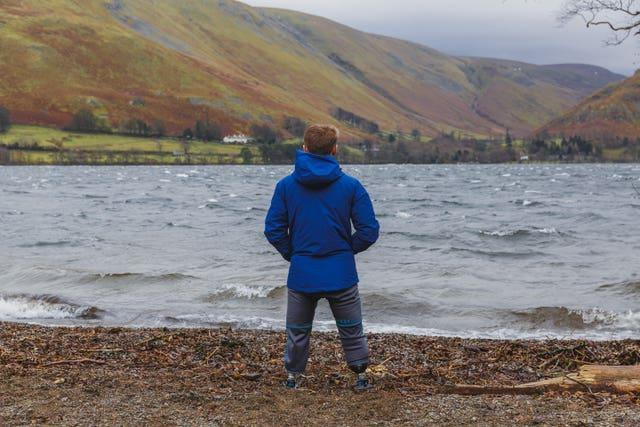 Billy Monger in the Lake District