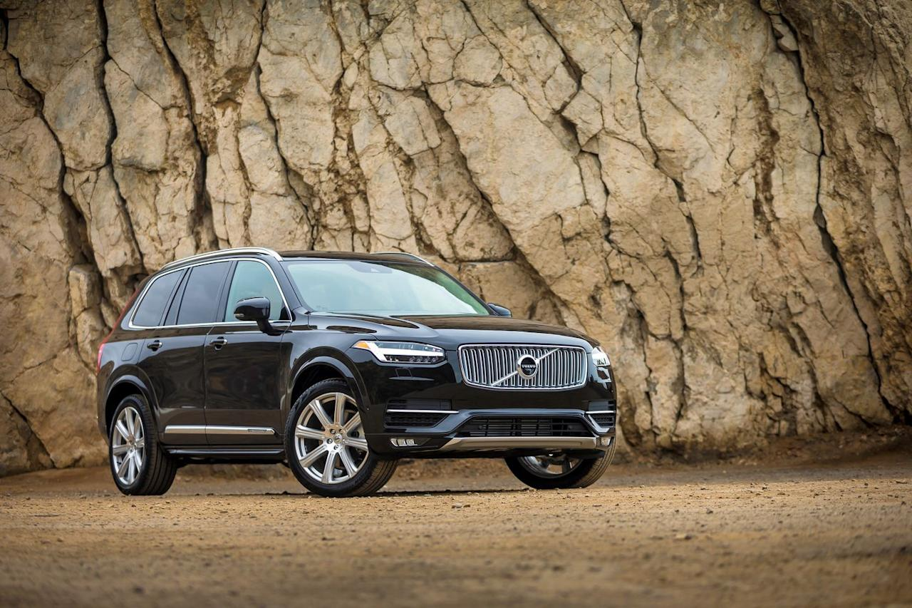 <p>The Volvo lineup is divided into 40-, 60-, and 90-series cars and SUVs. The larger the number, the bigger the vehicle-thus the XC90 sits atop the family, alongside the S90 sedan and V90 station wagon. In Volvo-speak, XC refers to crossovers and SUVs, S refers to sedans, and V denotes a wagon.</p>