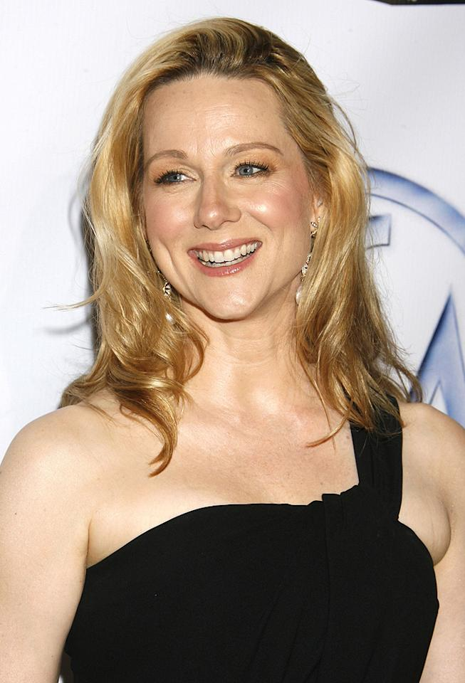 """<a href=""""http://movies.yahoo.com/movie/contributor/1800026206"""">Laura Linney</a> at the 20th Annual Producers Guild Awards in Hollywood - 01/24/2009"""