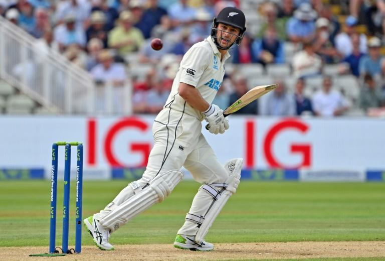 Maiden Test fifty - New Zealand's Will Young made 82 against England in the second Test at Edgbaston before he was out in the last over of Friday's play