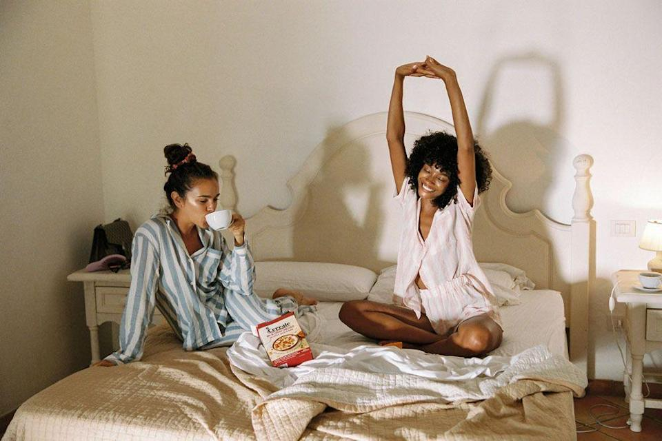 <p>A quiet evening in or a lazy Sunday morning no longer mean shapeless T-shirts and baggy trackie bottoms. There are an ever-increasing number of sleepwear brands that promise comfort, style and ease. Not that we needed an extra reason to stay in bed, but here we round-up our favourite nightwear labels.</p>