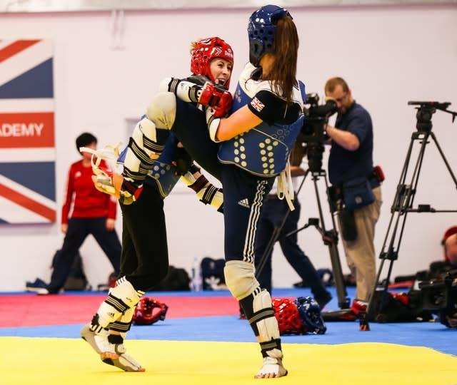 Jade Jones and Bianca Walkden will be allowed to continue sparring (Barrington Coombs/PA)