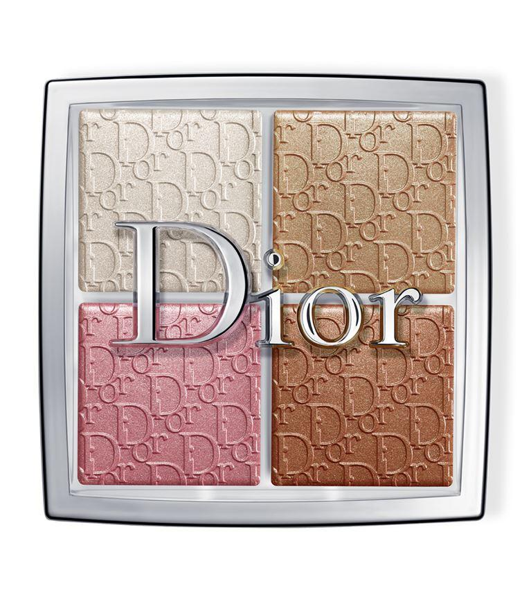 """<a href=""""https://fave.co/2kCs2WC"""" rel=""""nofollow noopener"""" target=""""_blank"""" data-ylk=""""slk:Backstage Glow Face Palette from Dior"""" class=""""link rapid-noclick-resp""""><strong>Backstage Glow Face Palette from Dior</strong></a><strong>, S$50.20,</strong> is ideal for creating a customisable subtle shimmer or intense glow to complement all skin tones. Peter Philips, Creative and Image Director for Dior Makeup, suggests to dot the lighter shades on prominent features to illuminate, use the rosy pink to awaken dull complexions and create glowing warmth with the bronzing powder."""